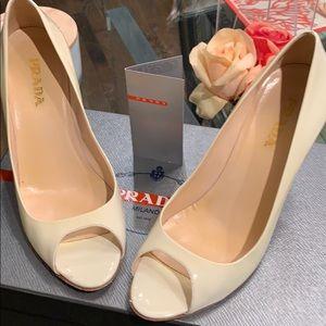 Authentic Prada Patent Heels